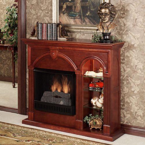 Cambridge Unlit Curio Fireplace