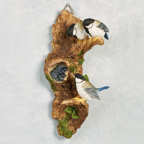 Lunch Time Chickadee Wall Art Multi Earth