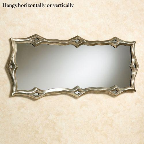 Vallerie Wall Mirror Platinum