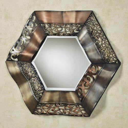 Raghnall Wall Mirror Multi Metallic