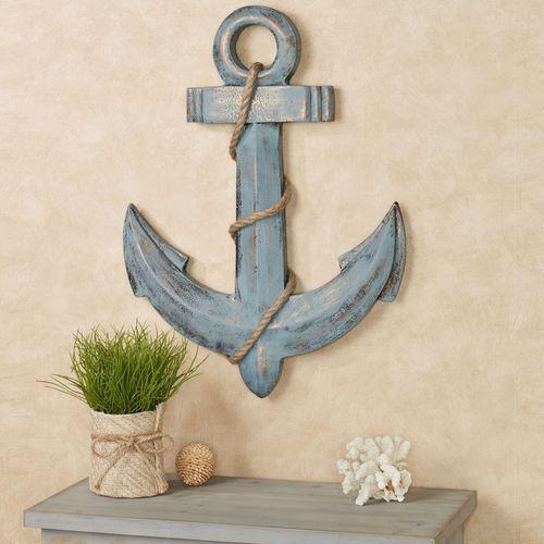 Anchors Aweigh Wall Art Blue