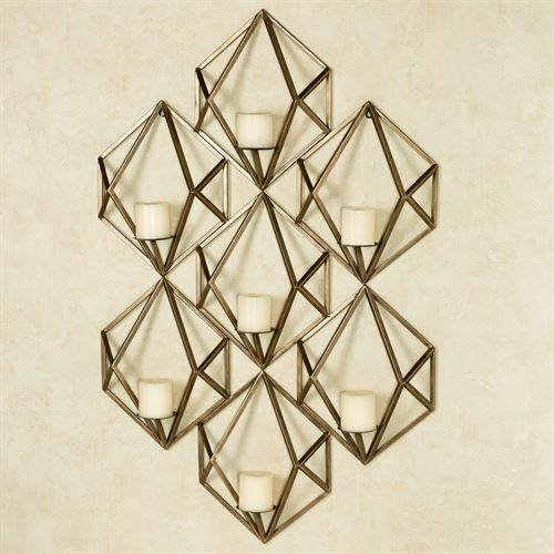 Bright Stars Candelabra Wall Art