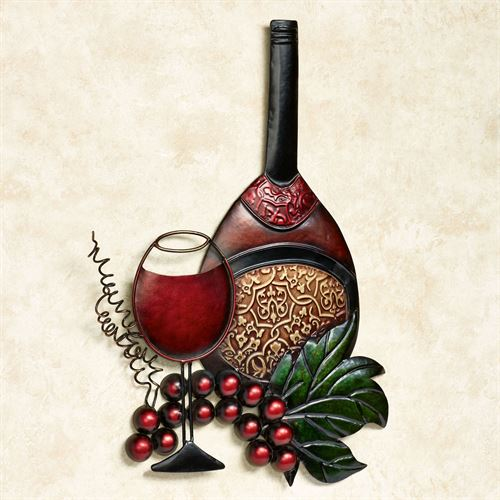 Wine Harvest Wall Art Merlot