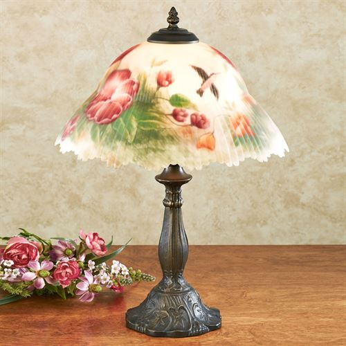 Serenitys Song Table Lamp Multi Jewel Each with CFL Bulb