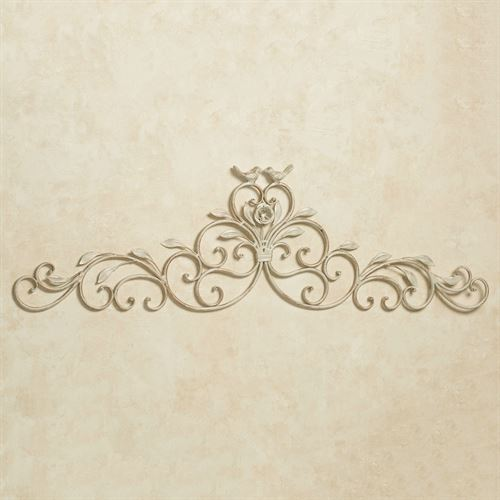 Wings of Love Wall Topper Creamy Gold