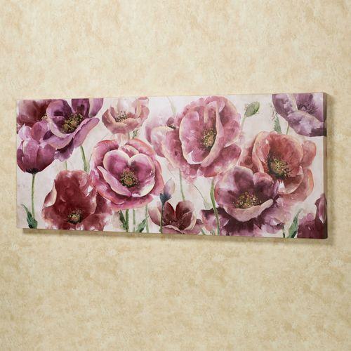 Garden Jewels Canvas Wall Art Multi Pastel