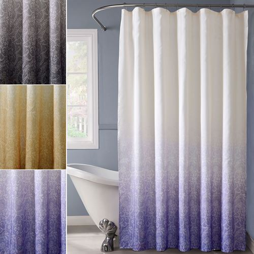 Fading Lace Shower Curtain 72 x 72