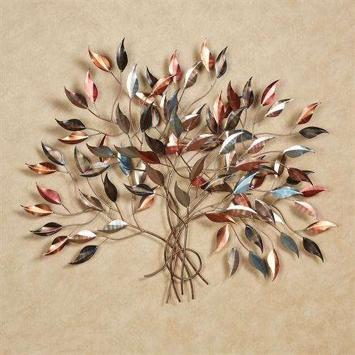 Brilliance Metal Wall Sculpture Multi Metallic