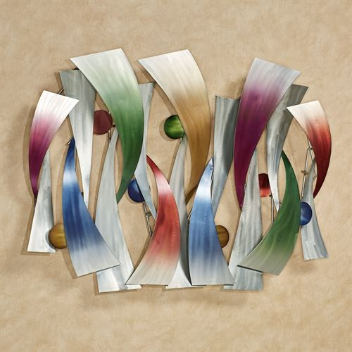 InSync Metal Wall Sculpture Multi Jewel