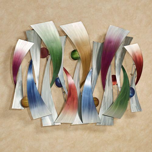 InSync Metal Wall Sculpture Multi Jewel
