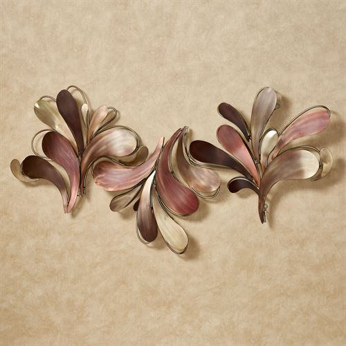 Paramount Metal Wall Sculpture Multi Metallic
