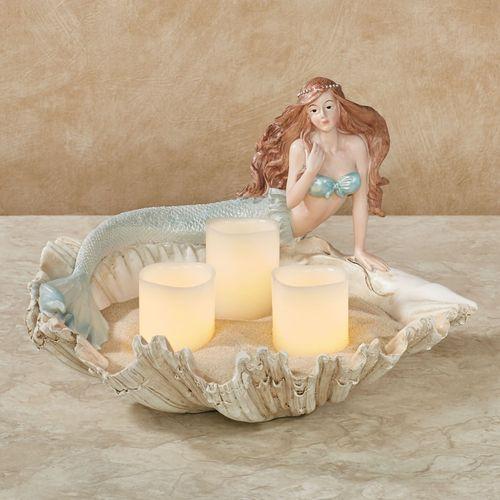 Mermaid Decorative Bowl Powder Blue