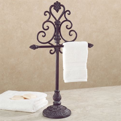 Aldabella Tuscan Slate Towel Stand/Jewelry Holder