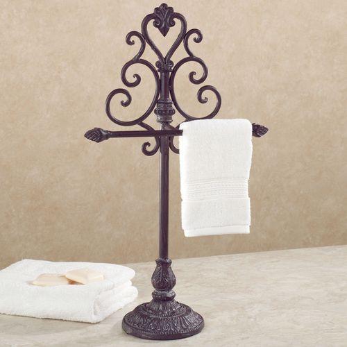 Aldabella Tuscan Slate Towel Stand/Jewelry Holder