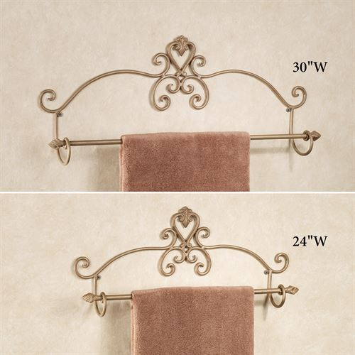Aldabella Satin Gold Towel Bar