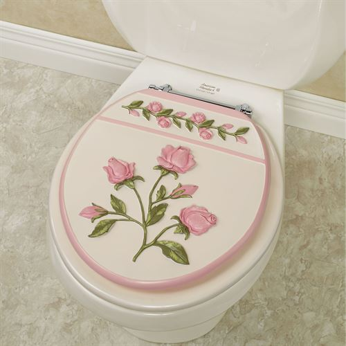 Bridal Rose Standard Toilet Seat Blush