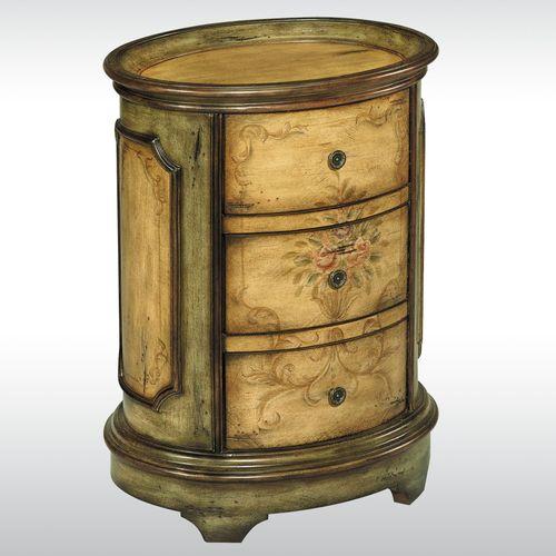 Cormac Wooden Storage Cabinet Cream