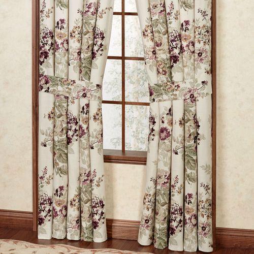 Cherish Tailored Curtain Pair Fawn 84 x 84