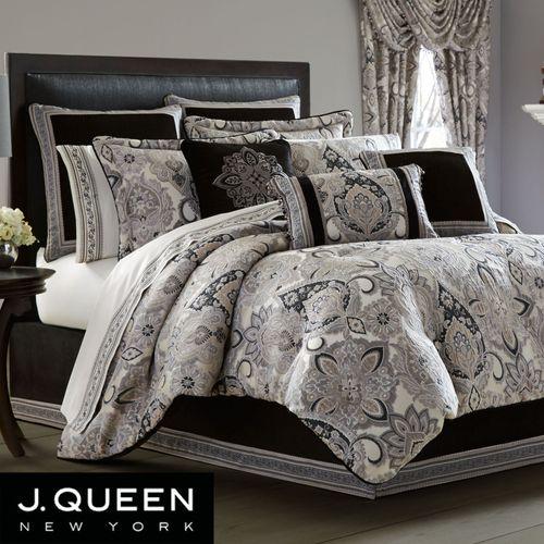 Guiliana Comforter Set Silver Gray