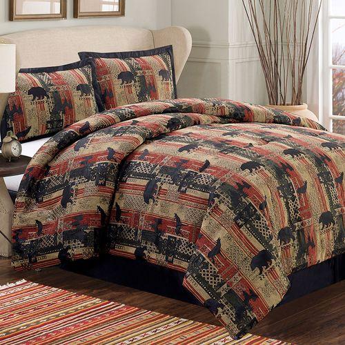 Rhineback Comforter Set Multi Warm
