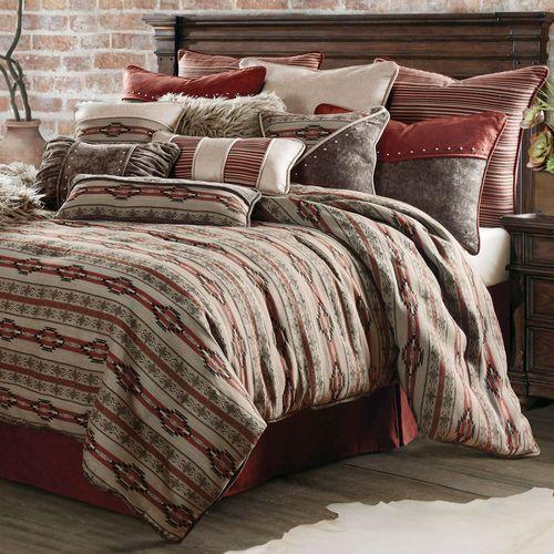 Silverado Comforter Set Multi Earth