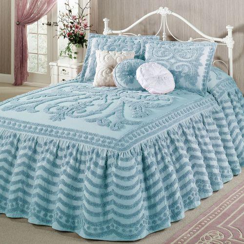 Illusion Grande Bedspread Pastel Blue