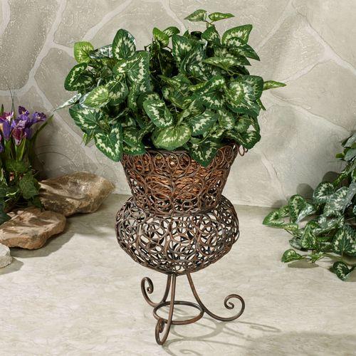 Addemson Metal Plant Stand Bronze