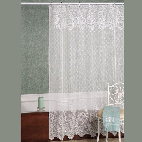 Floret Shower Curtain  72 x 72