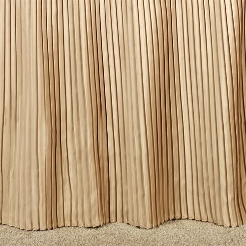 Mini Pleat 14 inch Gathered Bedskirt