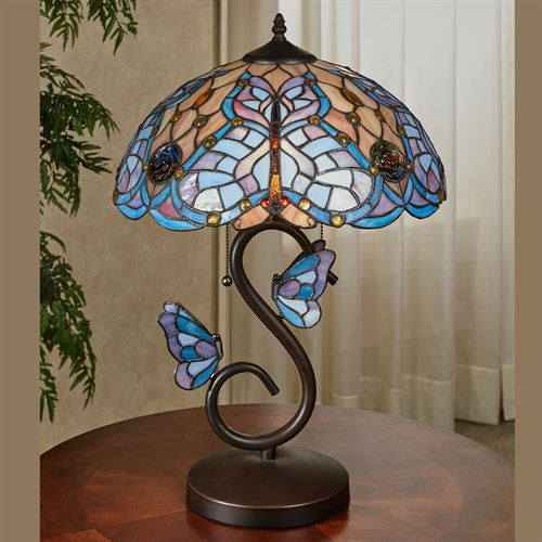 Butterfly Dreams Table Lamp Bronze
