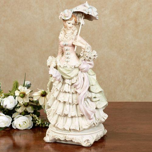 Vivianne Lady Figurine Multi Pastel