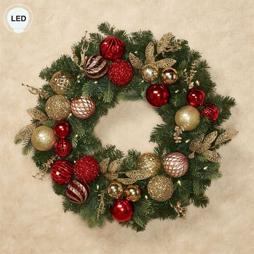 Outdoor Lighted Wreath Inspiration Elegant Ornament LED Lighted Indoor Outdoor Holiday Wreath