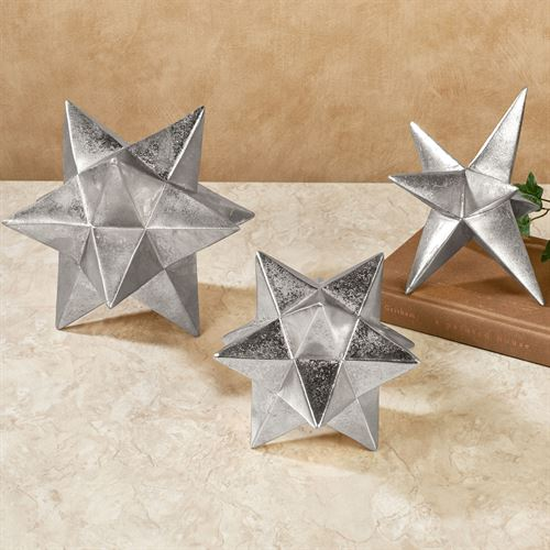 Star Tabletop Accents Set of Three