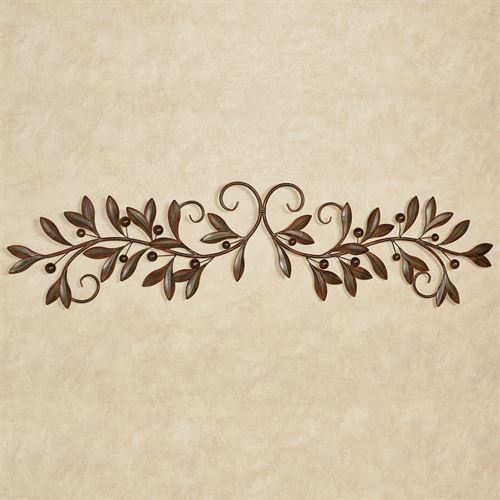 Catalonia Olive Decorative Wall Grille Brown