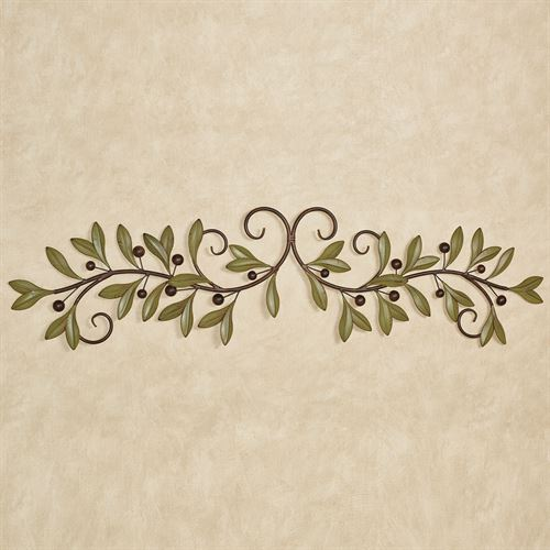 Catalonia Olive Decorative Wall Grille Sage