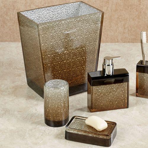 Mirage Lotion Soap Dispenser Amber