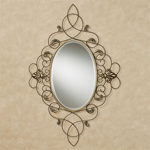 Kirkland Wall Mirror Gold