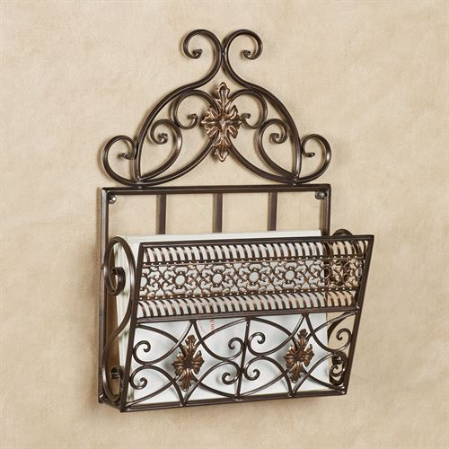 Charleston Wall Organizer Bronze Single