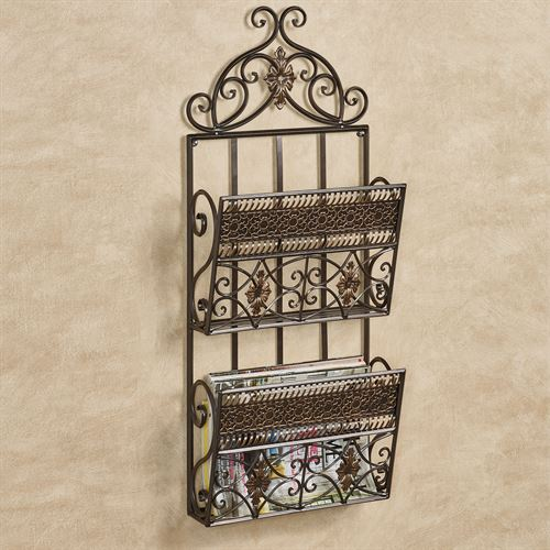 Charleston Wall Organizer Bronze Double