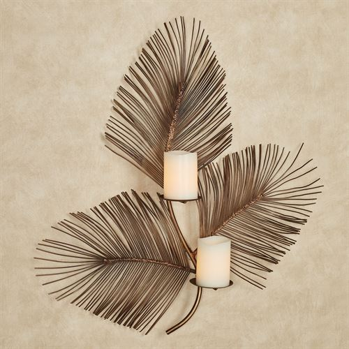 Fairlie Fern Wall Sconce Bronze