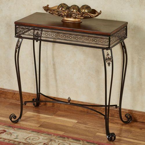 Charleston Console Table Bronze
