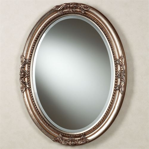 framed oval bathroom mirror andina oval wall mirror 18395 | L276 001