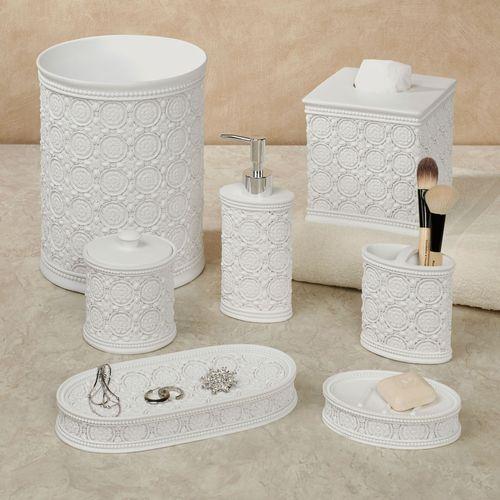 Knightsbridge Lotion Soap Dispenser Off White