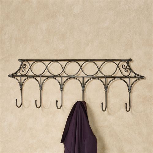 Myles Wall Hook Rack Taupe