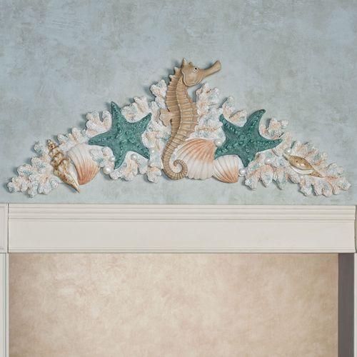 Coral Medley Decorative Topper Multi Earth