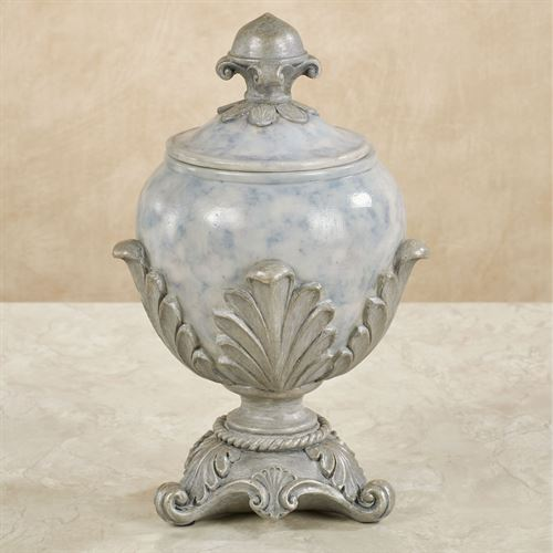 Lionna Decorative Covered Jar Blue