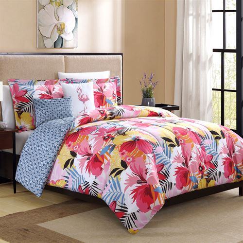 Lanai Comforter Bed Set Multi Bright