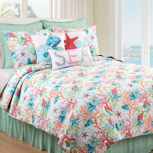 Caribbean Splash Mini Quilt Set Multi Bright