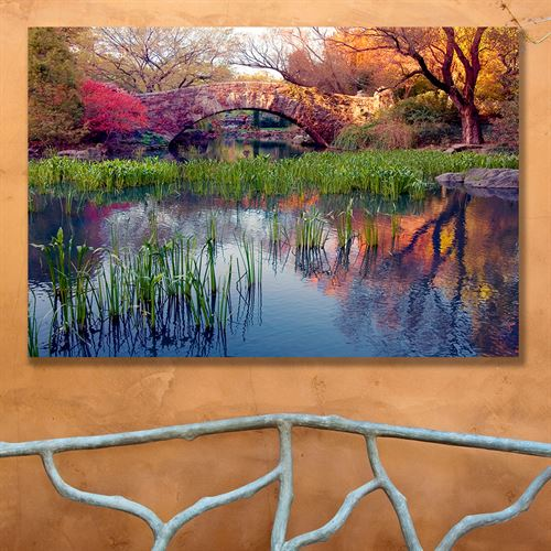 Reflections Canvas Wall Art Multi Cool