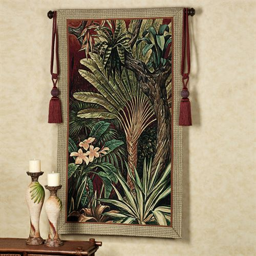 Bali Garden II Tapestry